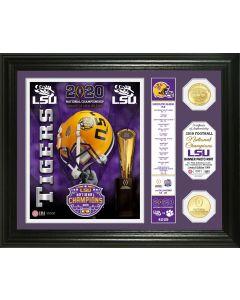 "Louisiana State University 2019 Football National Champions ""Banner"" Bronze Coin Photo Mint"