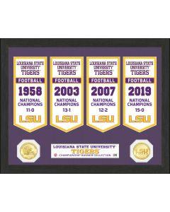 Louisiana State University Bronze Coin Banner