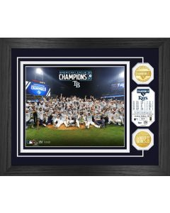 Tampa Bay Rays 2020 AL Champions Celebration Bronze Coin Photo Mint