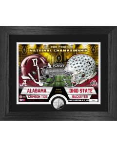 Alabama vs Ohio State Football National Championship Dueling Silver Coin Photo Mint