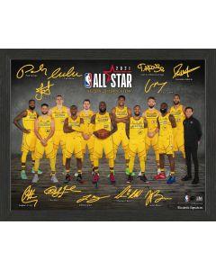 NBA 2021 Team Lebron All Stars Signature Frame