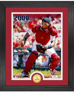 Yadier Molina 2000th Game Bronze Coin Photo Mint