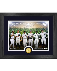 New York Yankees vs Chicago White Sox MLB Field of Dreams 2021 Bronze Coin Photo Mint
