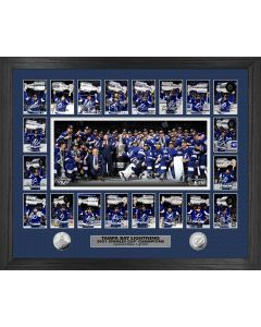 Tampa Bay Lightning 2021 Stanley Cup Champions Memorable Moment Silver Coin Photo Mint