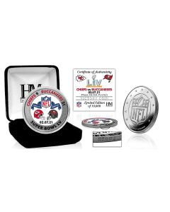 Tampa Bay Buccaneers Super Bowl 55 Victory Silver Mint Coin