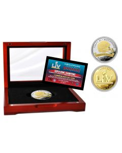 Tampa Bay Buccaneers Super Bowl 55 Champions Two-Tone Mint Coin