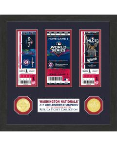 Washington Nationals 2019 World Series Champions Ticket Collection