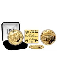 Yankee Stadium Gold Coin